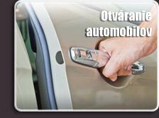 Otváranie automobilov